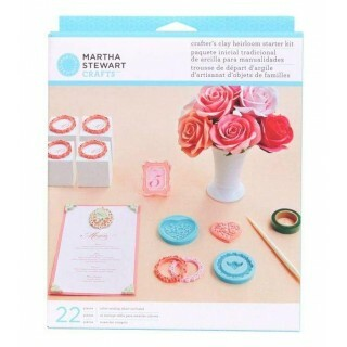 Kit p/ trabalhos com Resina ou Argila - Crafters Clay Heirloom Starter Kit
