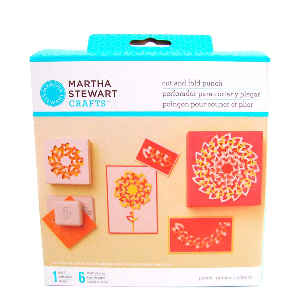 Furador - Cut And Fold Punch Petals - Martha Stewart
