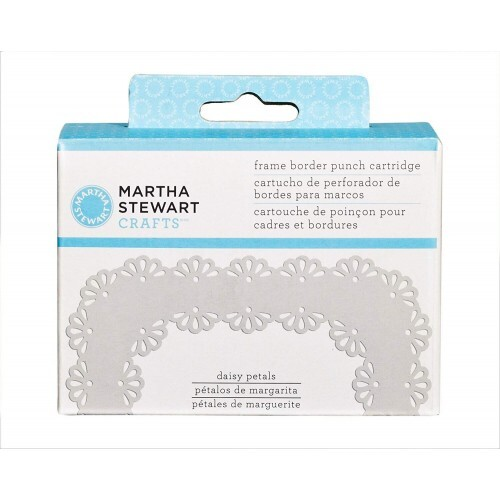 Furador - Frame Border Punch Cartridge - Daisy Petals - Martha Stewart