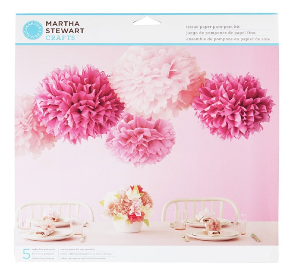 Kit p/ Pom Pons Decorativos - Martha Stewart