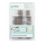 Kit 6 Carimbos - Stamp Aroud The Page - Ornate Borders - Martha Stewart
