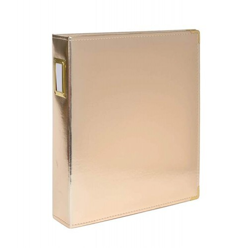 Álbum 09x12 Seven Paper - Gold - American Crafts