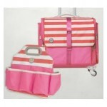 Kit Mala Organizadora + Bolsa - 360 Craftes kit - Fold-up Bag and Tote Pink ( We R Memory Keepers )