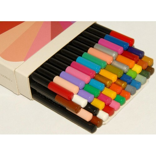 Kit com 48 Lápis de Cor - Colored Pencils - Creative Zen - Henna