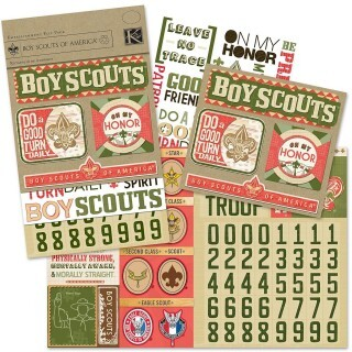 Adesivos - Boy Scouts of America - KeCompany