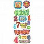 Adesivos p/ Chipboard - Happy Birthday 2 - KeCompany