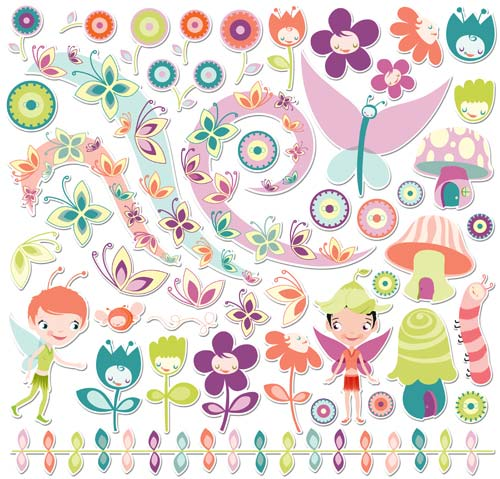 Kit Chipboard - Pixie Licious - Cosmo Cricket