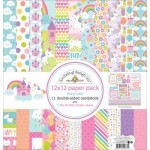 Kit Paper Pack - Fairy Tales - 30,5 x 30,5 c/ 12 Folhas - Doodlebug Design inc
