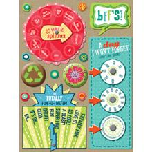 Adesivos Girl Scouts Spinners & Buttons -  KeCompany