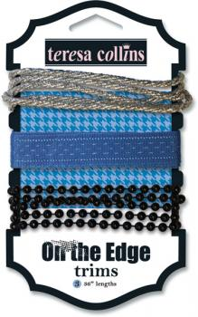 Kit de Fitas - On the Edge Trims - Teresa Collins
