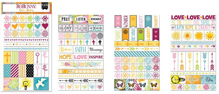 Adesivos - The Reset Girl Planner Basics Stickers
