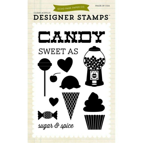 Carimbo - Sweet as Candy - Echo Park Paper Co.