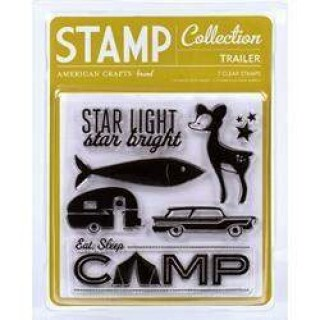 Carimbo - Stamp Collection Trailer - American Crafts