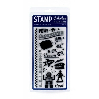 Carimbo - Stamp Collection Rascal - American Crafts