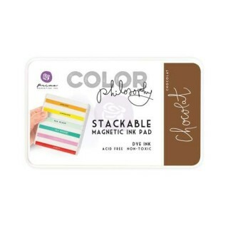 Carimbeira Color Philosophy - Chocolat - Prima Marketing