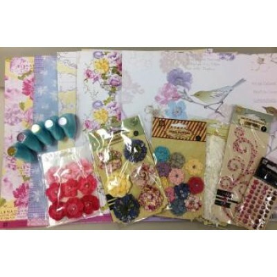 Kit Caris para Scrapbook - Prima Marketing
