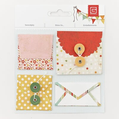 Mini Envelopes - Serendipity & Shine On