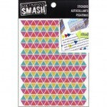 Adesivos - Neon Triangle Stickers - Smash - Ke Company