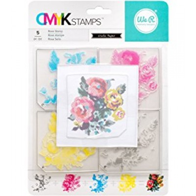 Carimbo CMYK Stamps - Flowers - We R Memory Keepers