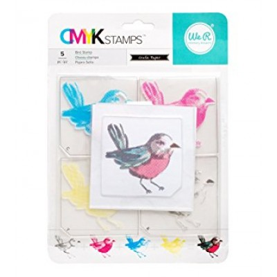 Carimbo CMYK Stamps - Bird - We R Memory Keepers