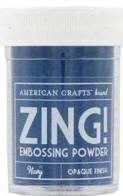 Pó para Emboss - Zing Embossing Powder - Navy