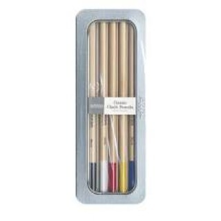 Kit Chalk Pencil Pebbles Basic Shades (Lápis)