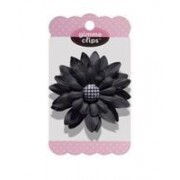Gimme Clips para Planners ou Agendas - Black Houndstooth
