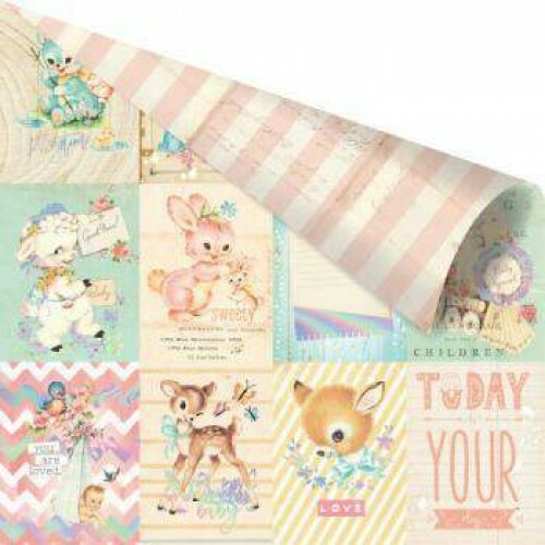 Papel Heaven Sent 2 Collection - Welcome Baby 180gr - 30,5x30,5