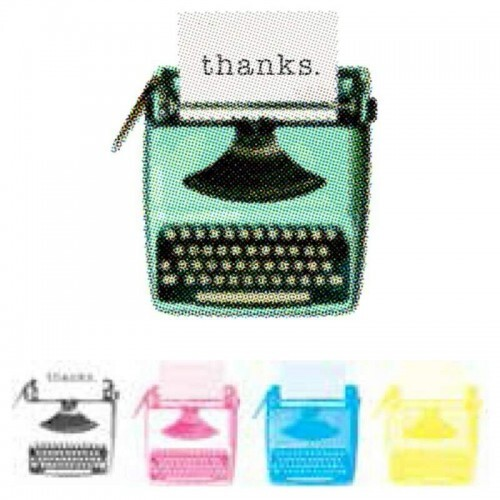 Carimbo CMYK Stamps - Typewriter - We R Memory Keepers