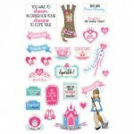Cartela de Adesivos para Planner - Fairytales - Prima Marketing