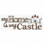Cartela Adesivos - My home is my Castle - Jolees Boutique