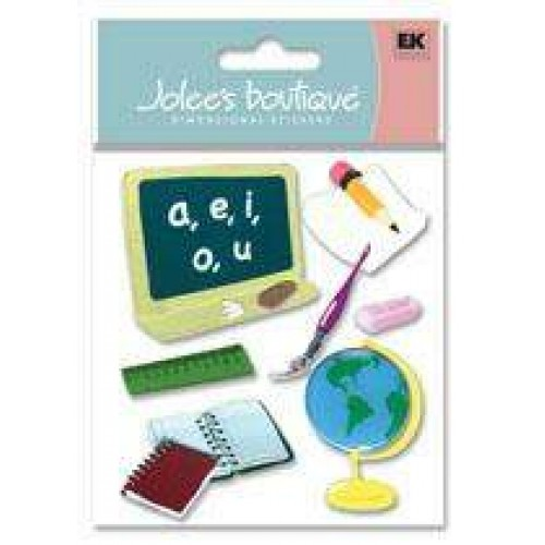 Cartela Adesivos - In The Classroom - Jolees Boutique