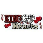 Cartela de Adesivos - King Of Hearts