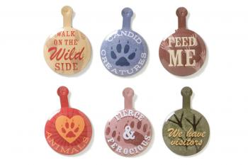 Apliques Pinch Tabs - Wild Animals