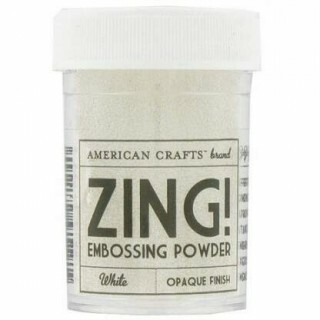 Pó para Emboss - Zing Embossing Powder - White