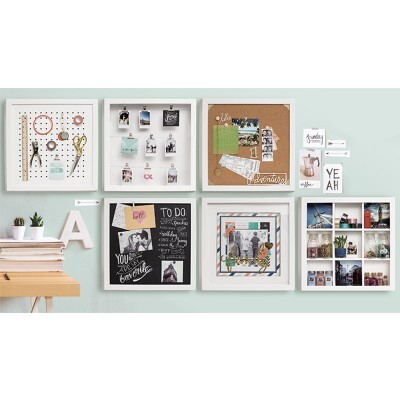 Quadro de Fotos Organizador - Organization Gallery - Hinged Display Frame