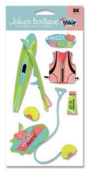 Cartela de Adesivos - Water Ski - Jolees Boutique