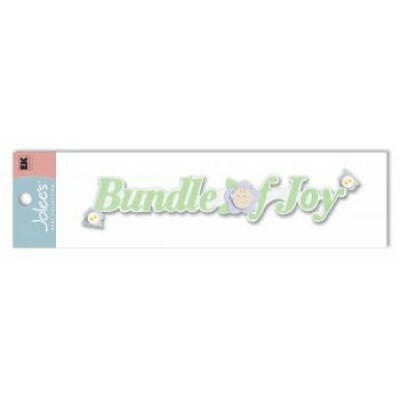 Cartela de Adesivos - Bundle Of Joy - Jolees Boutique
