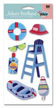 Cartela de Adesivos - Life Guard - Jolees Boutique