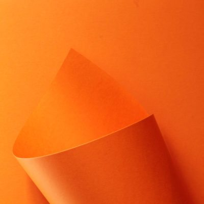 Papel Pop Set - Flame Orange 170g - A4 - 25 Folhas