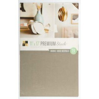 Kit de Papéis Premium Stack - Double Sided Neutrals c/ 24 unidades - 27,9x43,1cm