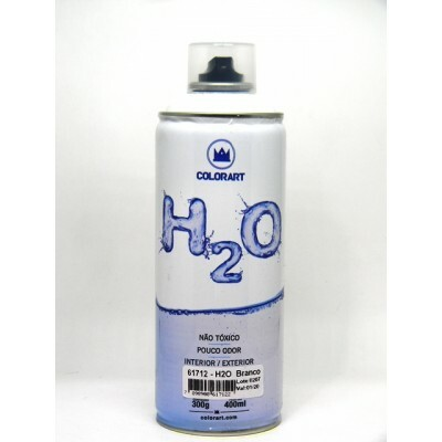 Tinta Spray H2O 400 ml - Branca