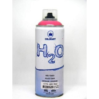 Tinta Spray H2O 400 ml - Rosa