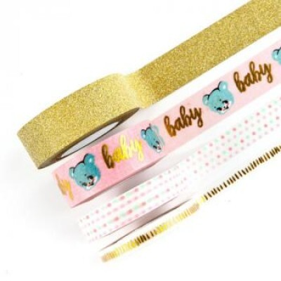 Washi Tape - Heaven Sent 2 - c/ 4 unidades - Prima Marketing