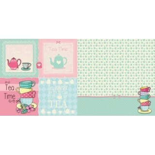 Papel Tea Time Tag - 180gr 30,5x30,5