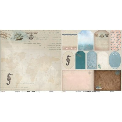 Papel Under The Sea 08 - 180gr 30,5x30,5