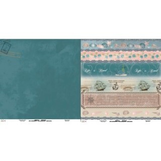 Papel Under The Sea 07 - 180gr 30,5x30,5