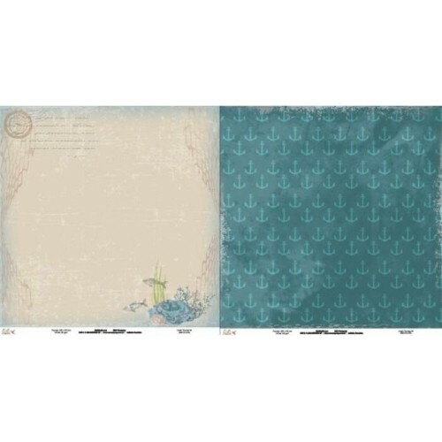 Papel Under The Sea 05 - 180gr 30,5x30,5