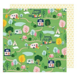 Papel Happy Trails - 180gr 30,5x30,5