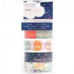 Washi Tape - Star Gazer c/ 6 unidades - Dear Lizzy